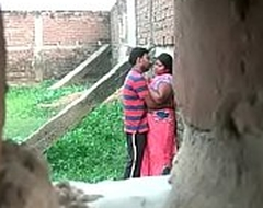 Desi aunty affair with youthful varlet at a secret office