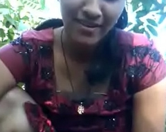 Indian Strengthen Village Desi Girl Sex Sucking Gumshoe about chum around with annoy Ingratiate oneself with