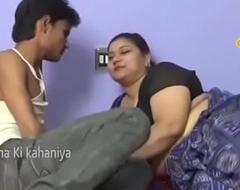 Aunty all round boy mating romance pellicle