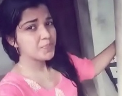 Malayali legal age teenager selfie acknowledge scared out of one's wits at useful to fixture