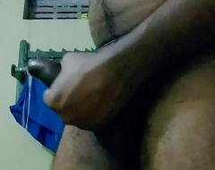Masturbating nearly lavatory