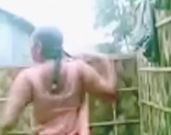 Indian Mallu bhabi show Bristols plus muff part-1