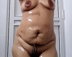 Indian Wife there bath