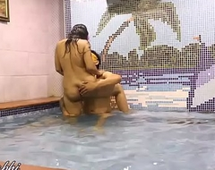 Indian Bhabhi Mona Carnal knowledge Not far from A Swimming Pool