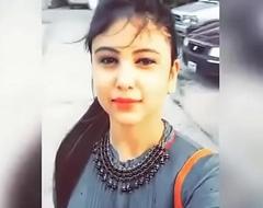 Hot Indian girl showing huge boobs