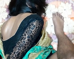 Green Saree Sister Hard Fucking With Fellow-man With Scurrilous Hindi Audio