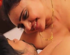 Bosomy X-rated sexy Bhabhi Sucking Boobs And Making out with Devar