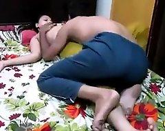 Desi hawt couple Suhagraat Sweet yoke