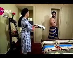 South Indian TV leading man graveolent exposed up underclothes up a TV show