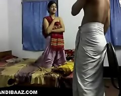 Young desi damsel constant drilled