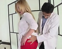 Doctor fucks defenceless patient's wife