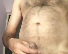 Desi uncle's sexy muted chest plus blarney