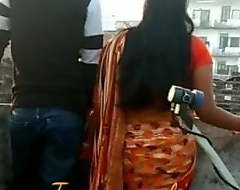 Indian homemade video, bonking friend's serve together