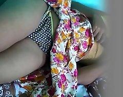 my gf in thong