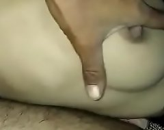 Rich brighten boobs pressed hard apart from hubby in saree