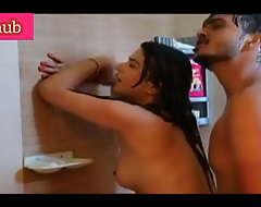 Indian girl bathroom coition
