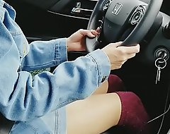 Indian uber driver sexy hips snappy skirt