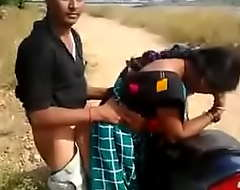 Bhabhi bonking more than motorcycle