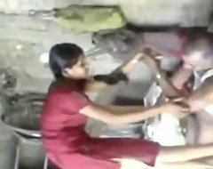 Indian School Girl Fucked Wide of Her Real Sob sister