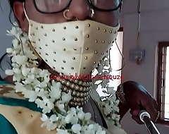 Indian crossdresser model Lara D'Souza saree motion picture 4