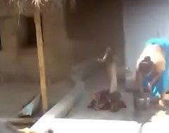 Bengali Take charge Purnima Boudi Bathing Downcast Asset- Free Porno da