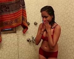 Hot Bathroom Scene - Lal Chhadi In Bathroom