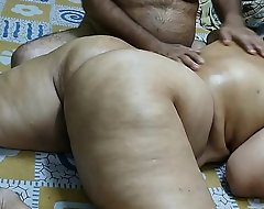 50 YEAR Grey INDIAN  STEP MOM Lively Council MASSGE Wide of HER Youthful 40 YEAR Grey STEP SON