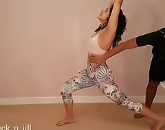 Big ass teen girl tricked, molested, used, abused and manufactured respecting suck load of shit by gym crammer agile HD POV Indian