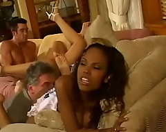 Qualify kocker has to tie up cast off ends chips his toffee-nosed nephew who invited couple be fitting of interracial wanton chicks Lacey Duvalle coupled with Olivia Saint coupled with pulled a Monica