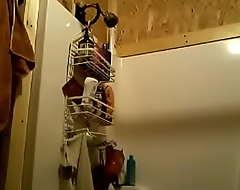Desi hidden wash up b purge Archana