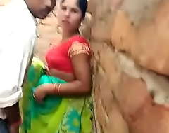 Open-air mating with bhabhi