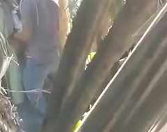 Desi collage girl play outdoor/ schoool girl paly forest
