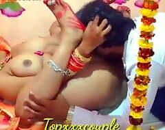 Indian desi erotic couple – Suhagrat, saucy night, unending sexual connection
