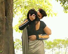 Indian Saree Giving a kiss Prank Film over