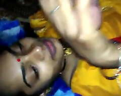 Desi village bhabhi gives oral-stimulation