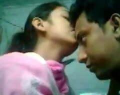 Desi townsperson clip having sexual congress