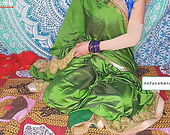 Bengali aunty about saree pettifoggery upon husband's friend