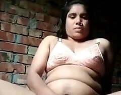 Jigna Bhabhi full bald selfie
