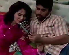 Indian aunty enjoying body love with her servant