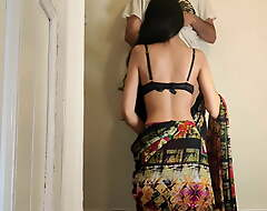 Indian girl with saree part 2, reckon be required of sex, sexy Hindi scene