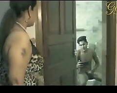 Indian Bhabhi Real Bathroom Sexual connection