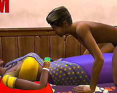 Indian Mom And Son - Visits Nurturer Relating to Say no to Room Ans Sharing A difficulty Same Bed