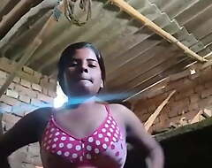 Regional Girl's Boobs Unexpectedly to Slit Filmed For Lover