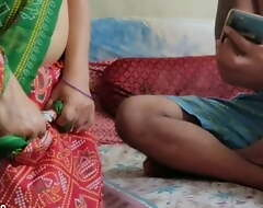 Indian chubby unreserved drilled away newcomer disabuse of her hubby