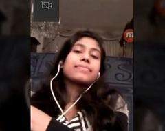 Indian Teen College Girl On Video Call - Wowmoyback