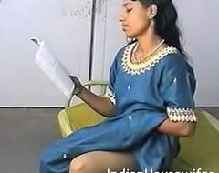 Amateur Indian Housewife Reading Dirty Magazing Plus Rubbing Pussy