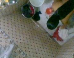 Nude indian girl in bathroom