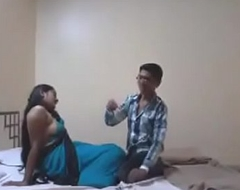 Indian Desi Girlfriend Enjoy Sex with Her Boyfriend in Hotel