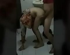 bangaladeshi teen girl charge from in doggystyle in bathroom