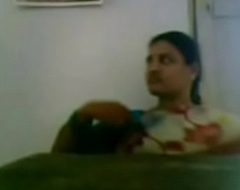 Andhra School Teacher Boobs Pressed